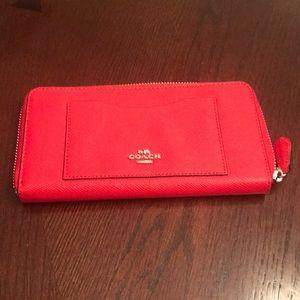 Coach ladies wallet.